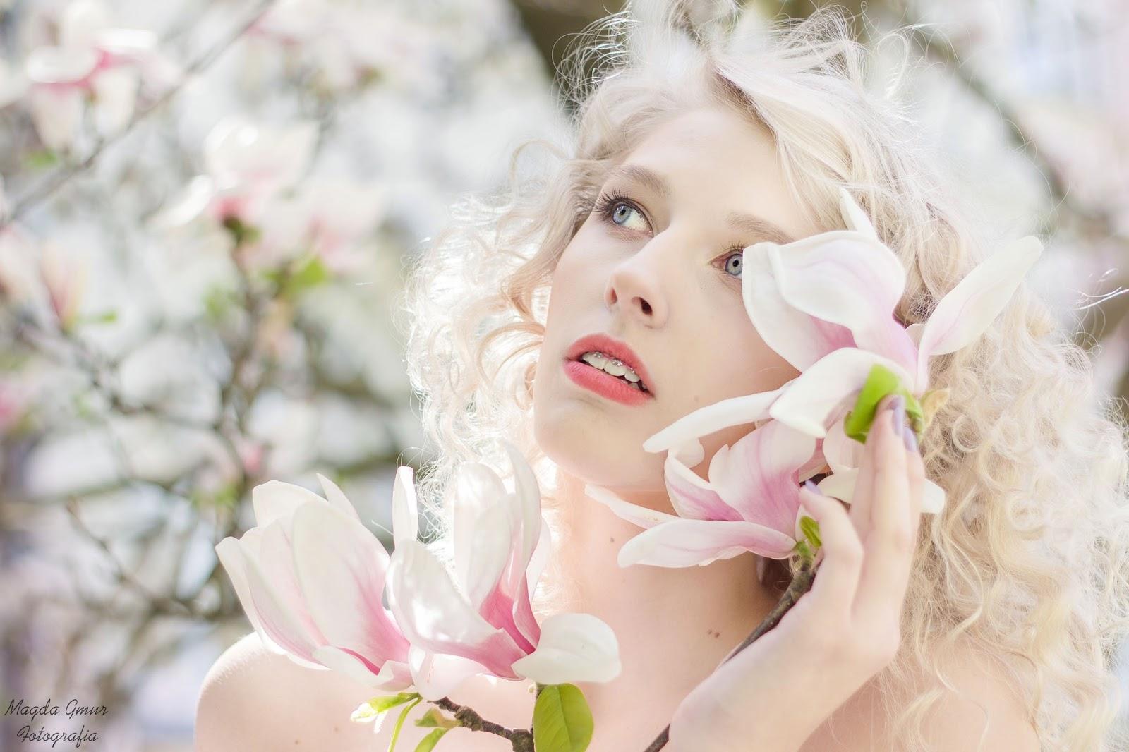 magda gmur fotografia, magnolie sesja, kwiaty, wiosenna sesja, kul magnolie, fotograf lublin, opoczno