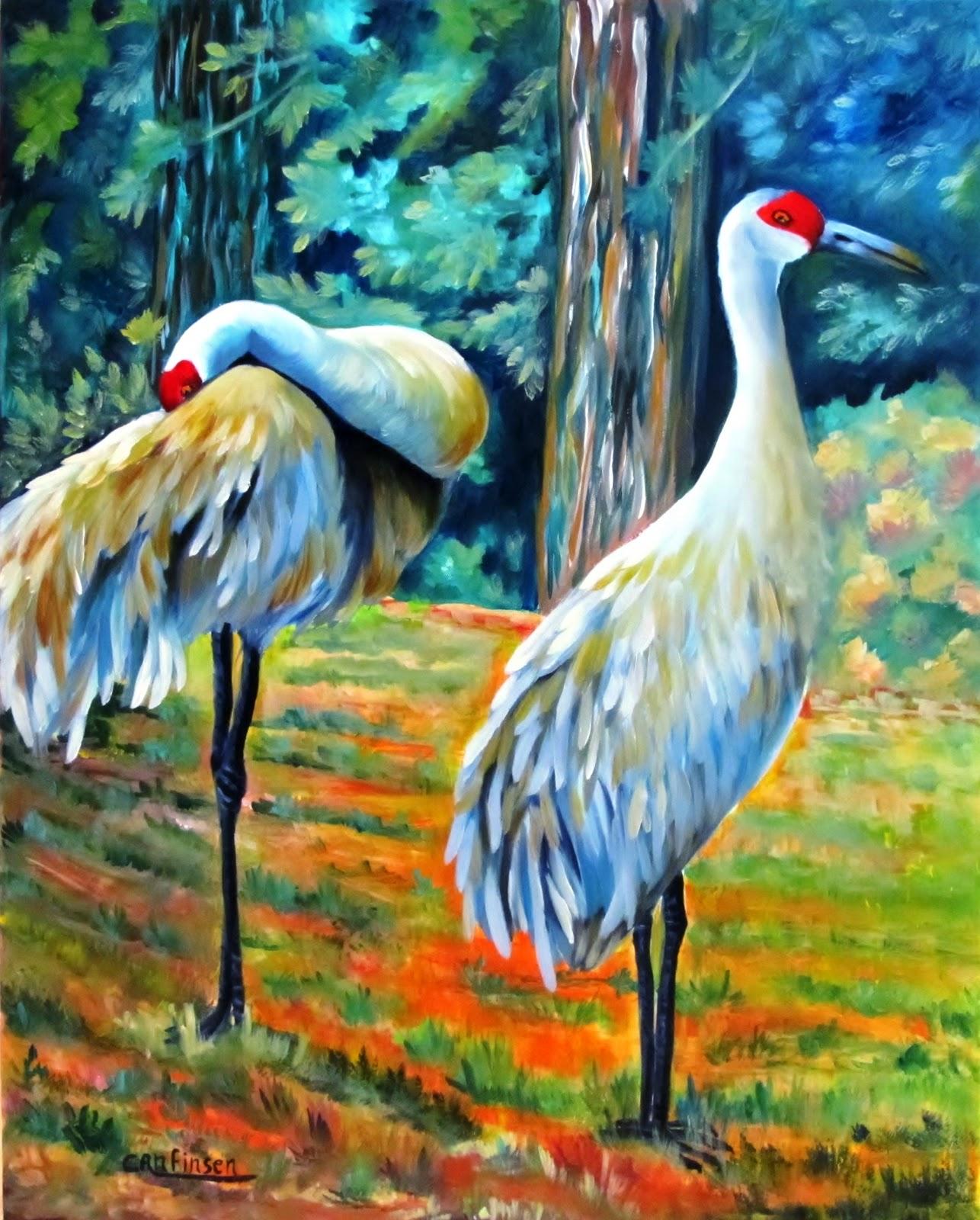 It Was Twilight And Sandhill Cranes >> Anfinsen Arts Alive Sandhill Cranes On The Chopping Block