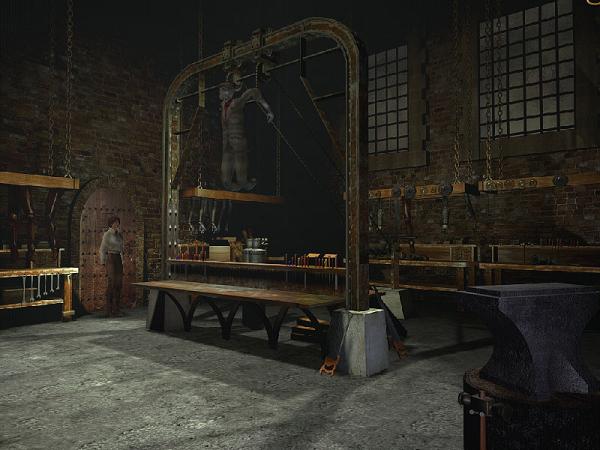 в помещении виси автомат игрушка Оскар в игре сибирь