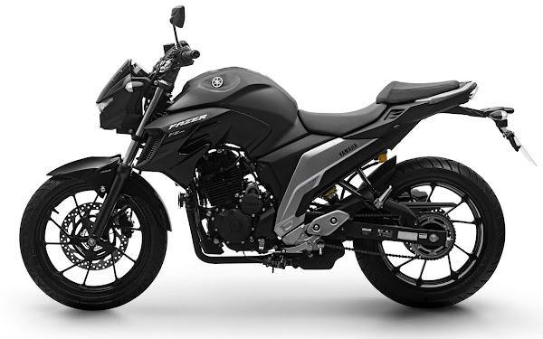 Yamaha Fazer FZ250 ABS 2022 - vermelha