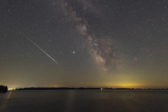 chuva de meteoros Perseidas 2020
