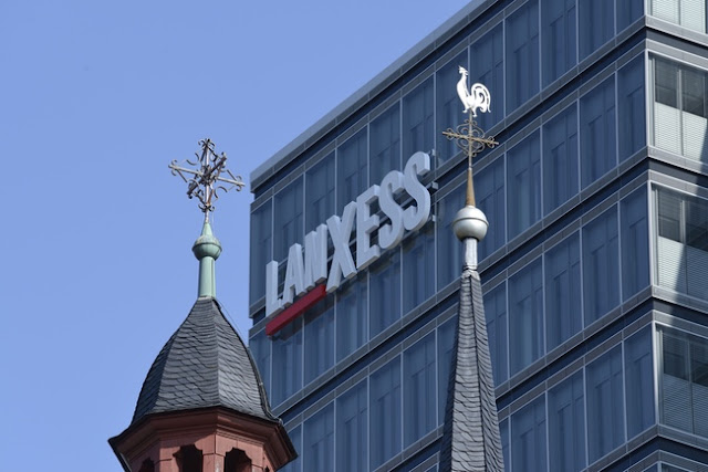 Kantor Pusat Lanxess Cologne, Jerman