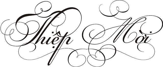 Chia Sẻ Fonts Thiệp Cưới Cực Đẹp