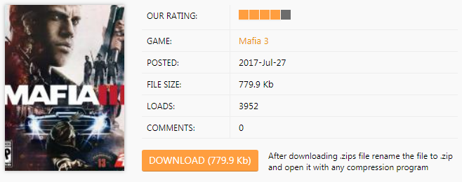 Mafia 3 Trainer download
