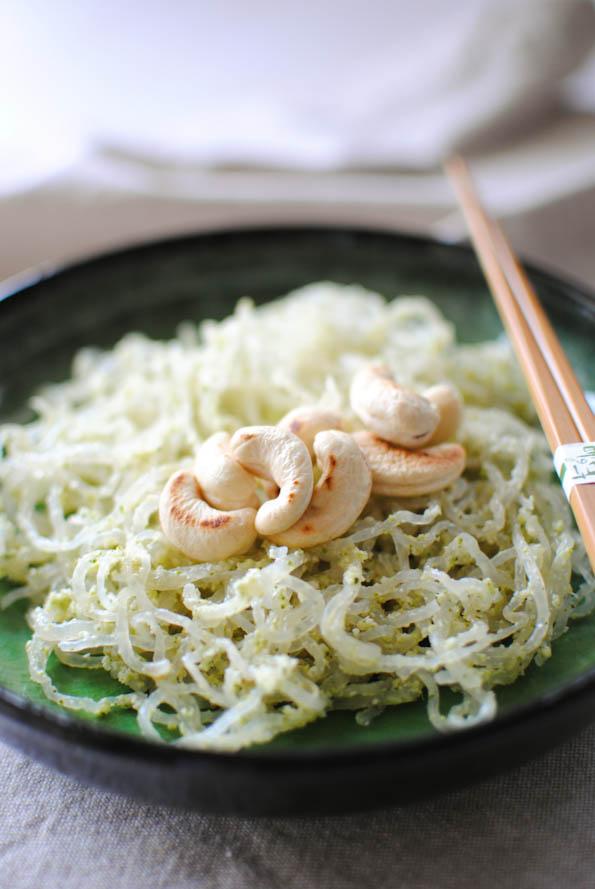 Scandi Home: Kelp noodles with broccoli pesto