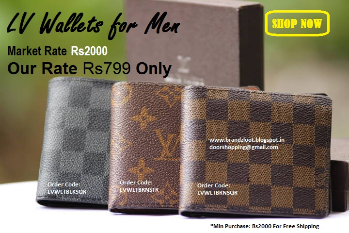Lv Replica Branded Wallets For Men In India At Rate Best Price