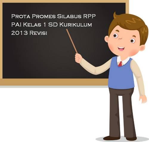 Prota Promes Silabus RPP PAI Kelas 1 SD Kurikulum 2013 Revisi