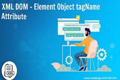 XML DOM - Element Object tagName Attribute