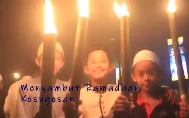 pawai obor ramadhan