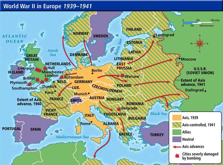 Fakta Menarik Perang Dunia Kedua