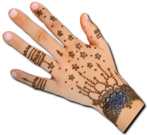 Wrist Mehndi for Children