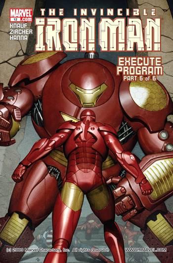 Iron Man y su armadura Hulkbuster