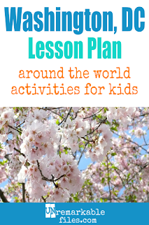 Building the perfect Washington, D.C. lesson plan for your students? Are you doing an unit on the US capitol in your K-12 social studies classroom? Try these free and fun Washington DC activities, crafts, books, and free printables for teachers and educators! #washington #dc #lessonplan
