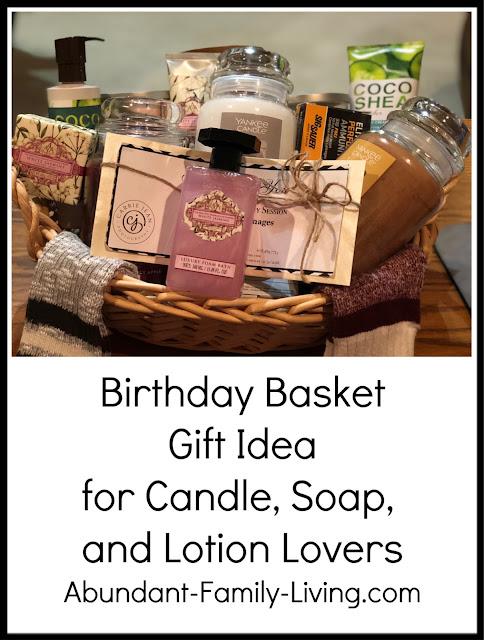 Birthday Basket Gift Idea
