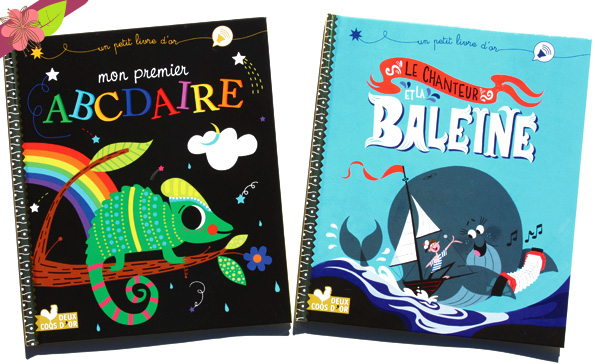Un petit livre d'or : Mon premier ABCdaire et Le Chanteur et la baleine - Deux Coqs d'Or