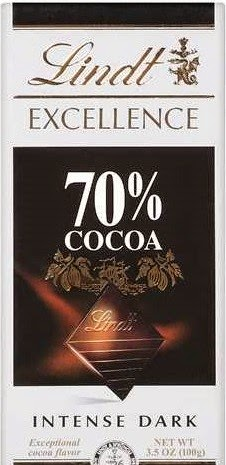 Lord Belmont in Northern Ireland: Lindt Excellence 70%
