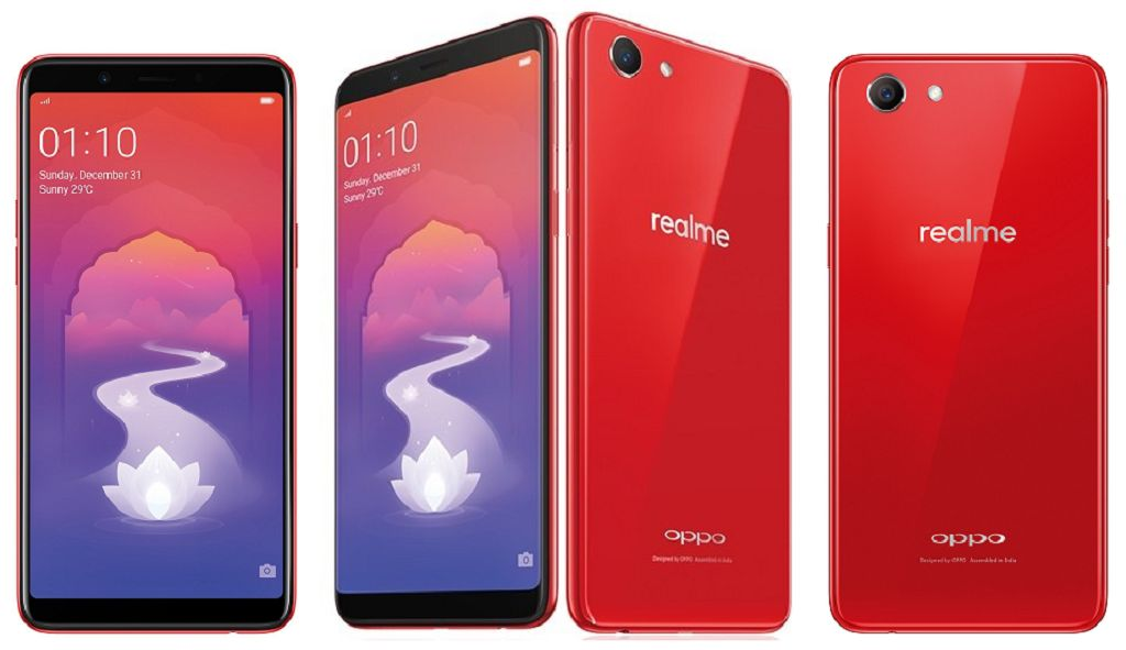 Realme 1 (2018) with Features and Specs