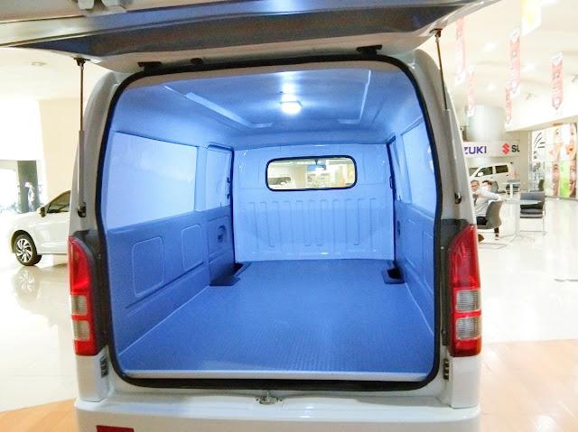 volume kabin carry blind van