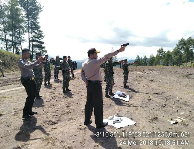 Perkuat Prajurit, Kodim 1414 Tana Toraja Gelar Latihan Menembak