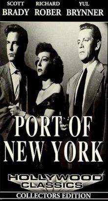 Public domain film noir: Port of New York (1949) | stills