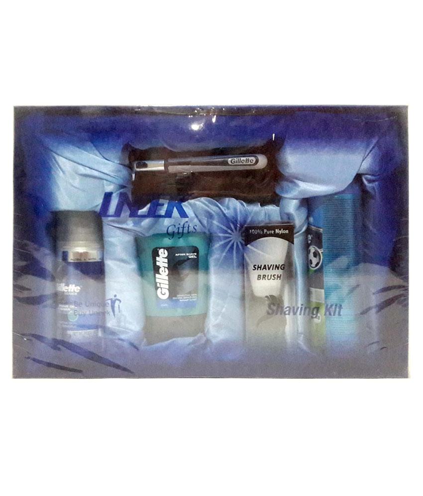 Uneek Gillette Shaving Gift Set 1000 ML