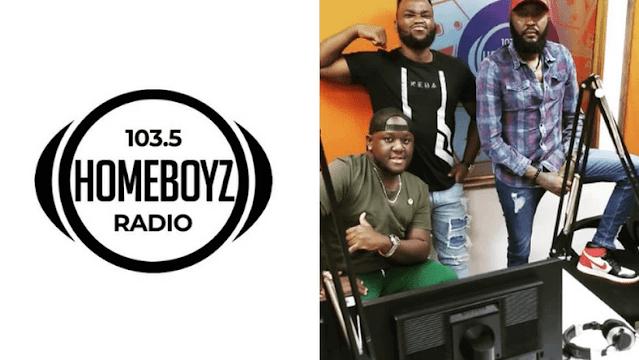 Homeboyz Radio presenters Shaffie Weru and Dj Joe Mfalme photo