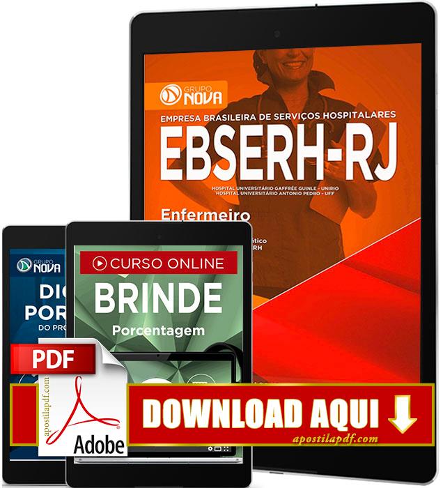 Apostila EBSERH RJ 2016 PDF Download Enfermeiro PDF