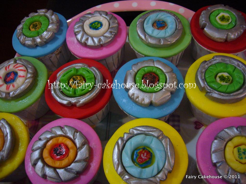 Fairy Cakehouse 3d Beyblade Cupcakes
