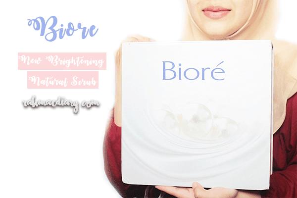 Biore New Brightening Natural Scrub