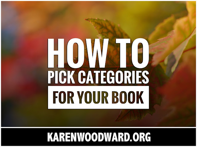 How to Pick Categories for Your Book