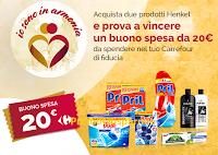 Logo Concorso ''Io sono armonia 2018 - 3° wave'' e vinci 115 buoni spesa Carrefour da 20€