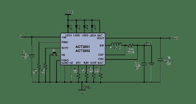 phone power bank circuit diagram
