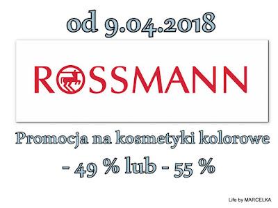 http://www.lifebymarcelka.pl/2018/03/przecieki-rossmann-promocja-49-55.html
