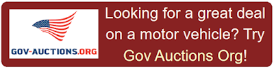 Buy your next vehicle from Government Auctions Organization