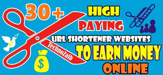 High-Paying-30-+-URL-Shortener-Websites-To-Earn-Money-Online
