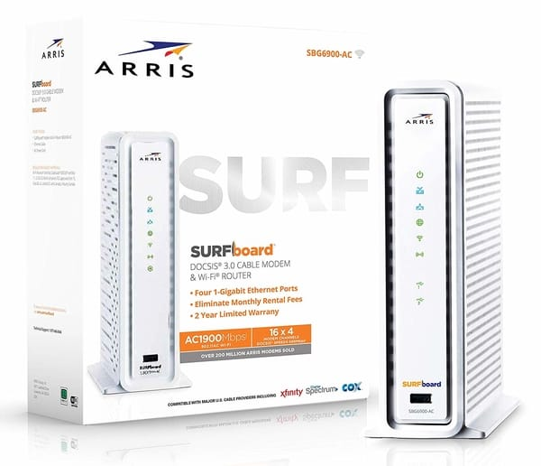 ARRIS SURFboard SBG6900AC Docsis 3.0 Modem