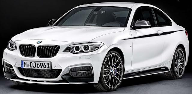 BMW 2 Series Coupé color white