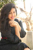 Telugu Actress Pavani Latest Pos in Black Short Dress at Smile Pictures Production No 1 Movie Opening  0175.JPG