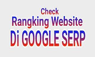 Cara Cek Ranking Website Di Google SERP Dengan Akurat