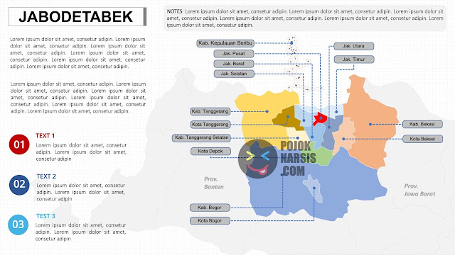 Peta Jabodetabek HD PNG