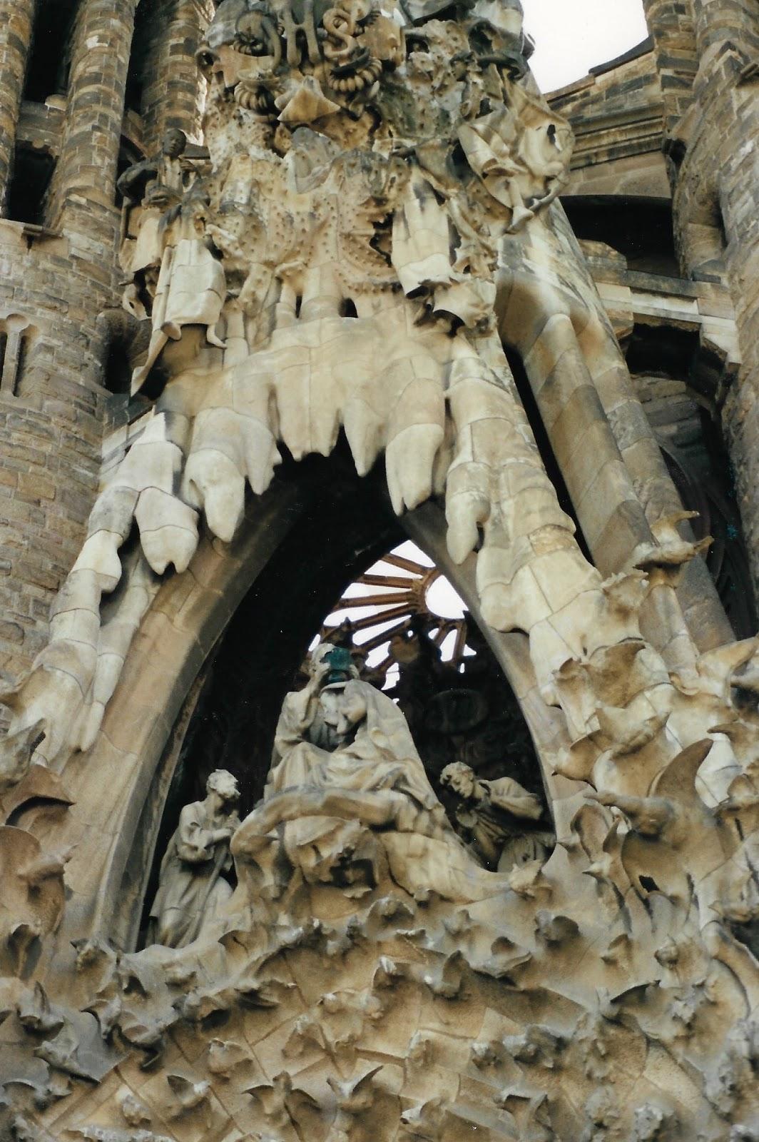 Gaudi teosed Barcelonas