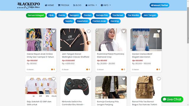 Aplikasi Web Toko Online Professional 5
