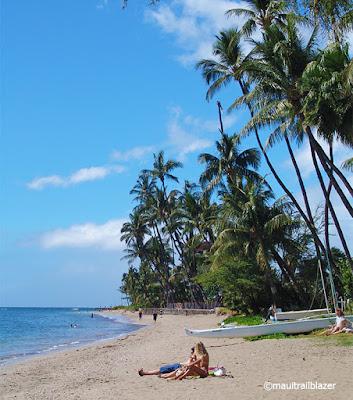 Lahaina beach Maui