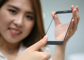 LG's Latest Fingerprint Sensor - Smartphone Cover Glass