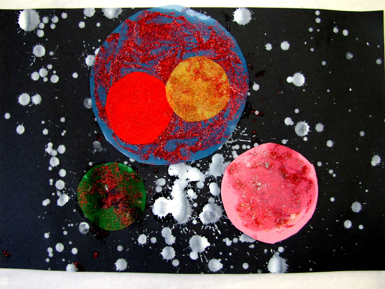 U s enterprise visit and outer space lessons artmuse67 for Outer painting design