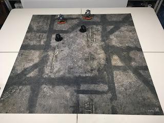 Adeptus Titanicus gaming mat