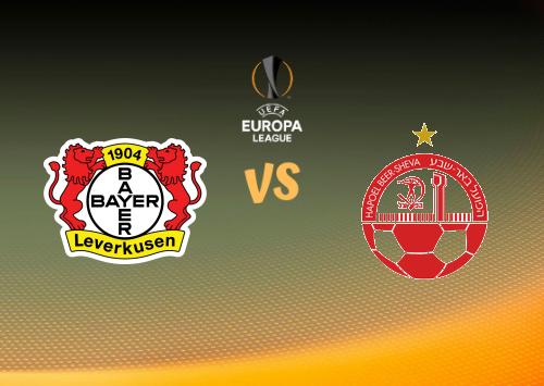 Bayer Leverkusen vs Hapoel Be'er Sheva  Resumen