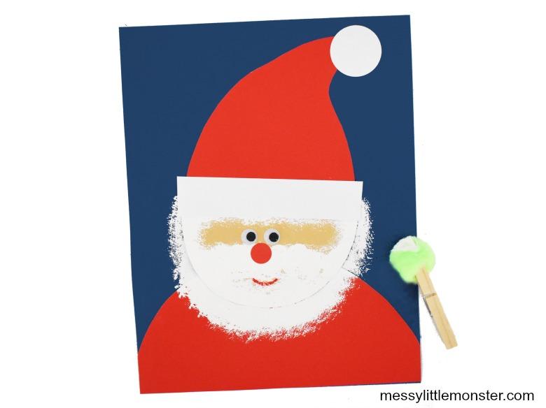 Santa craft for kids