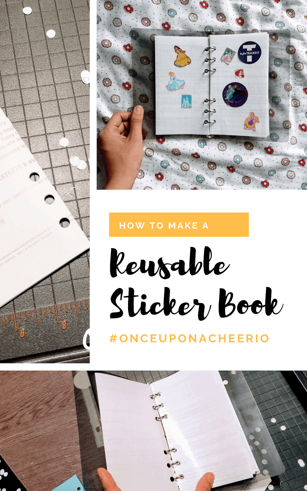 DIY Reusable Sticker Album