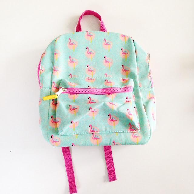 sac à dos enfant kiabi avec flamant rose
